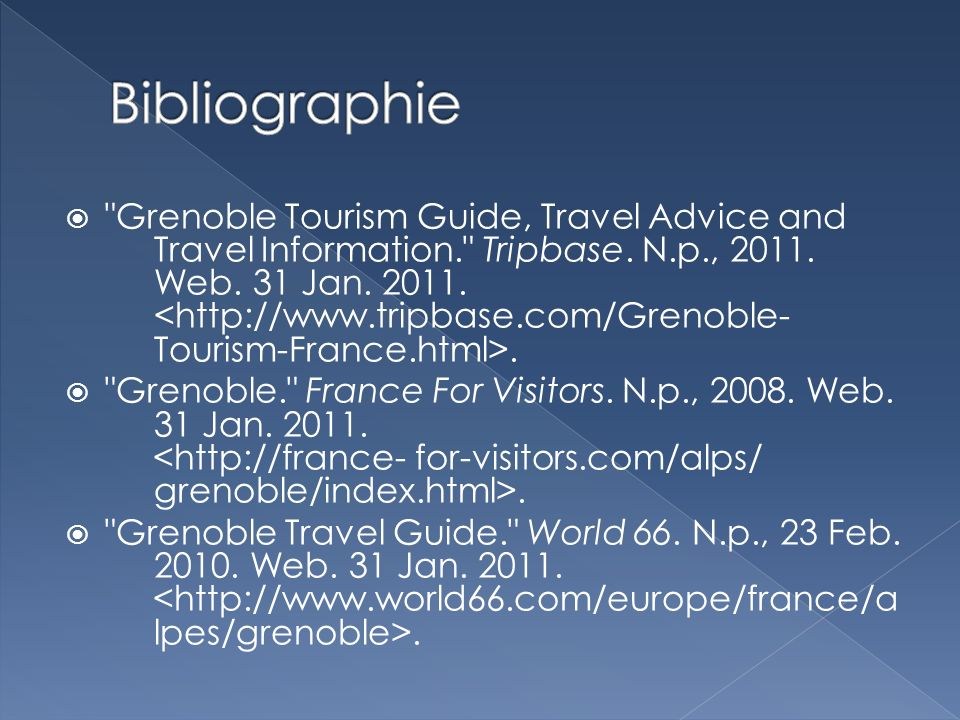Grenoble Tourism Guide, Travel Advice and Travel Information. Tripbase.