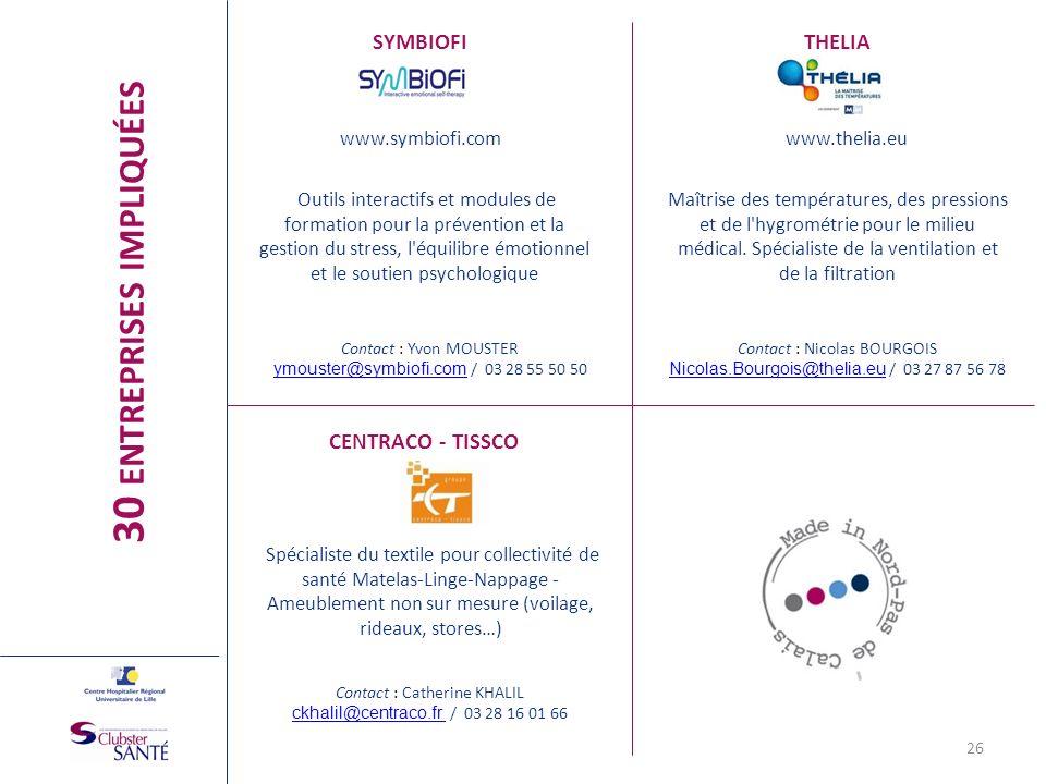 www.symbiofi.com SYMBIOFI Outils interactifs et modules de formation pour la prévention et la gestion du stress, l'équilibre émotionnel et le soutien