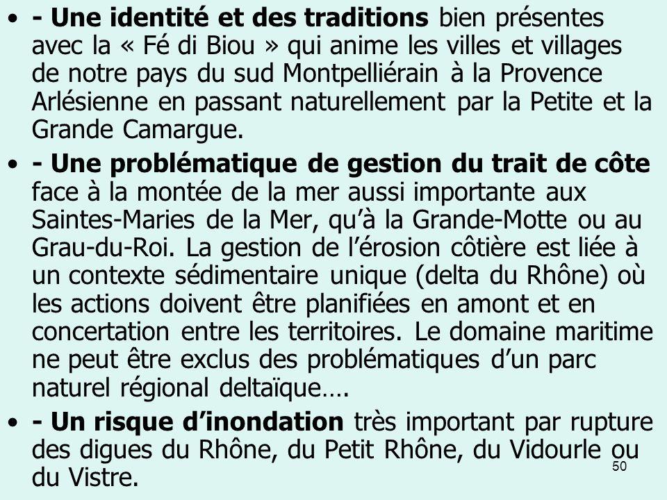 50 - Une identité et des traditions bien présentes avec la « Fé di Biou » qui anime les villes et villages de notre pays du sud Montpelliérain à la Pr