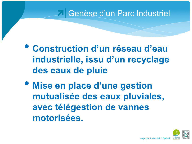 Genèse dun Parc Industriel Ces équipements sont de notre point de vue des exemples concrets de la mise en place du concept de développement durable,