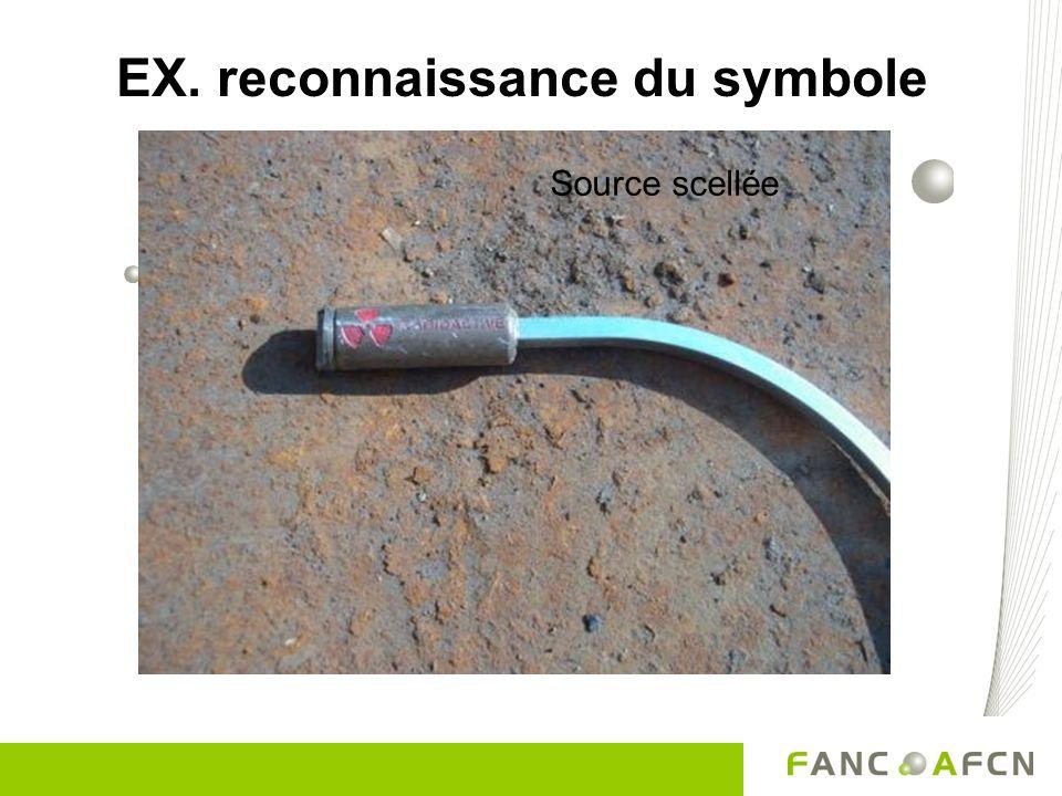 EX. reconnaissance du symbole Source scellée
