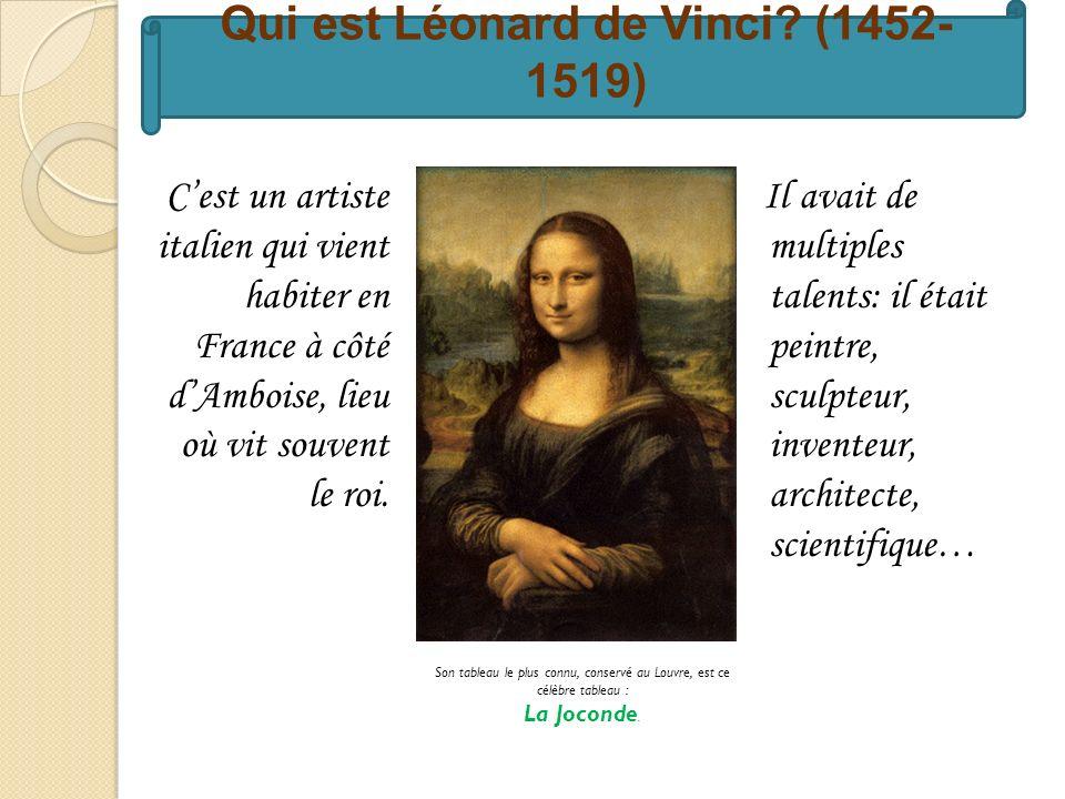Qui est Léonard de Vinci.