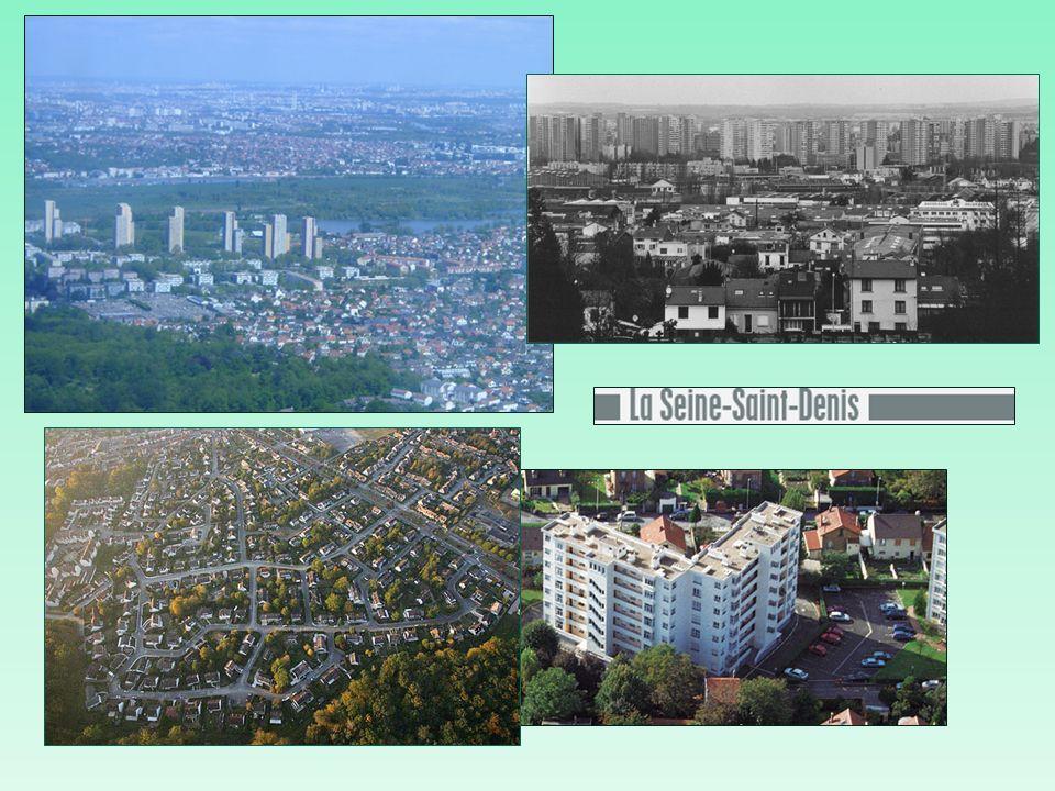 Seine-Saint-Denis (93) Population 1 396 000 habitants 12,6 % de la population de lÎle-de- France 5 916 habitants au km 2