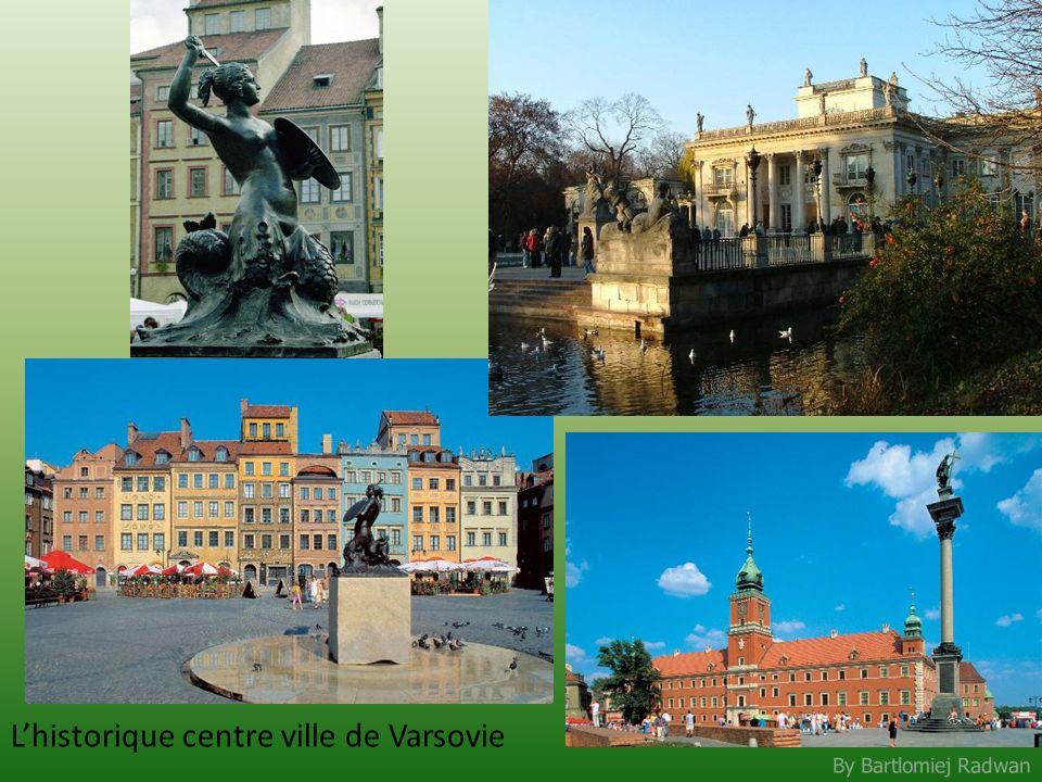By Bartlomiej Radwan Lhistorique centre ville de Varsovie