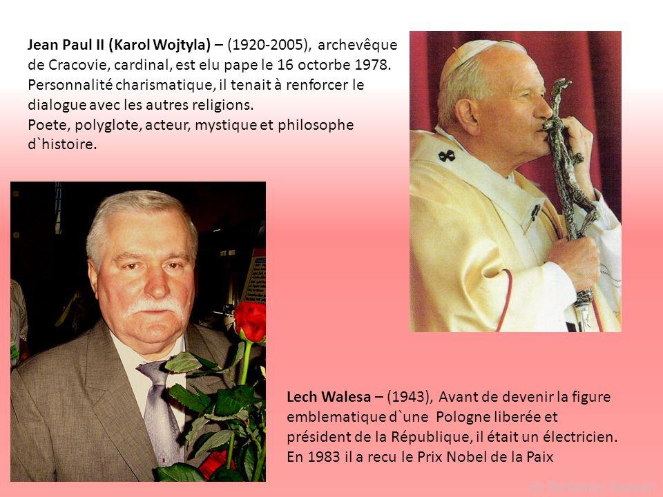 By Bartlomiej Radwan Lech Walesa – (1943), Avant de devenir la figure emblematique d`une Pologne liberée et président de la République, il était un él