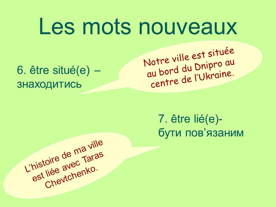 Les mots nouveaux 8.produire Lusine «Bogdan» produit les automobiles.