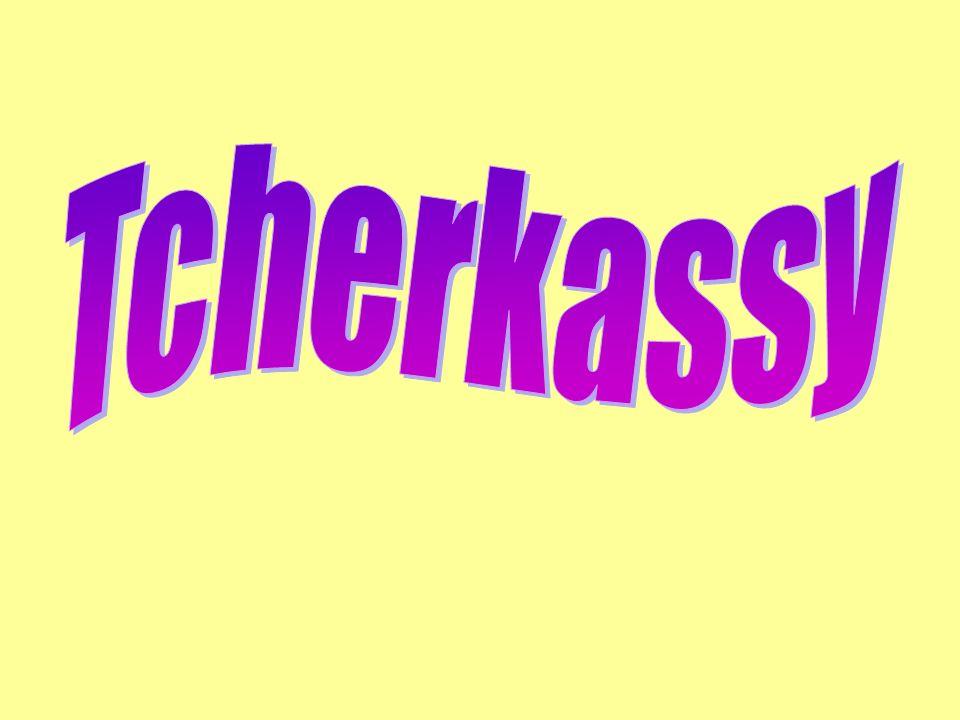 Tcherkassy......cest une grande et belle ville.