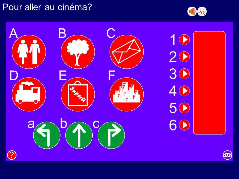 Où se trouve le cinéma? Réponds aux questions! 1.Où se trouve la poste? 2.Comment on va à lhôpital? 3.Où se trouve la gare routière? 4.Comment on va à