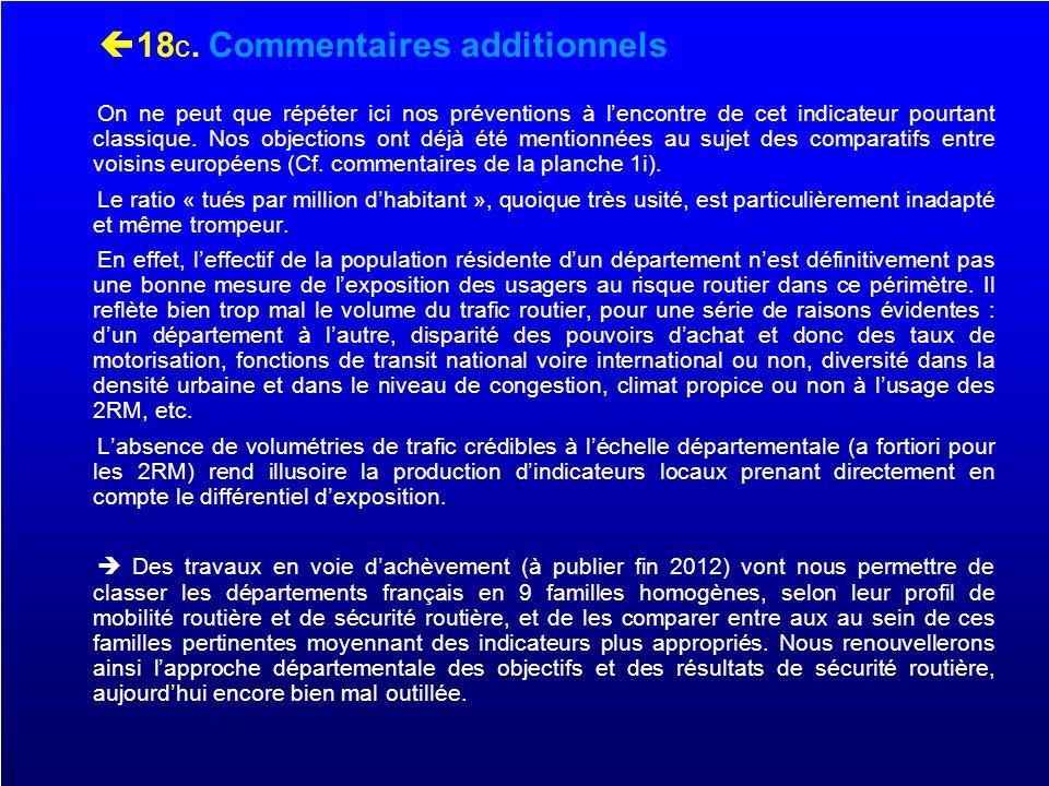 19. Les DOM Evolutions ATBH 2010 à 2011 comparées 4 DOM vs France métropole
