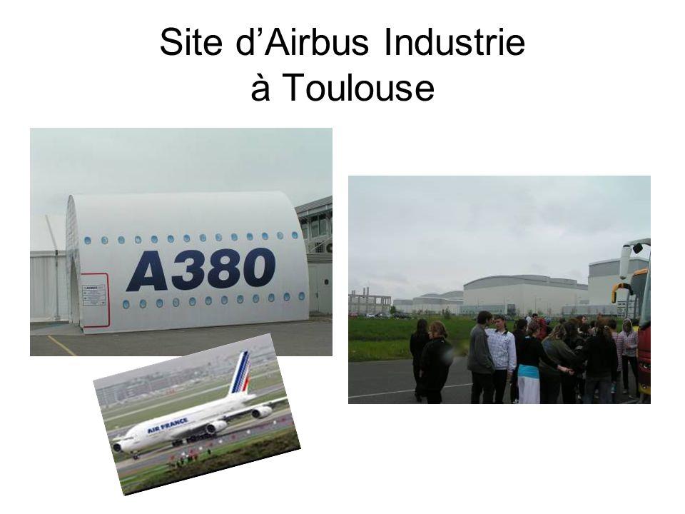 Site dAirbus Industrie à Toulouse