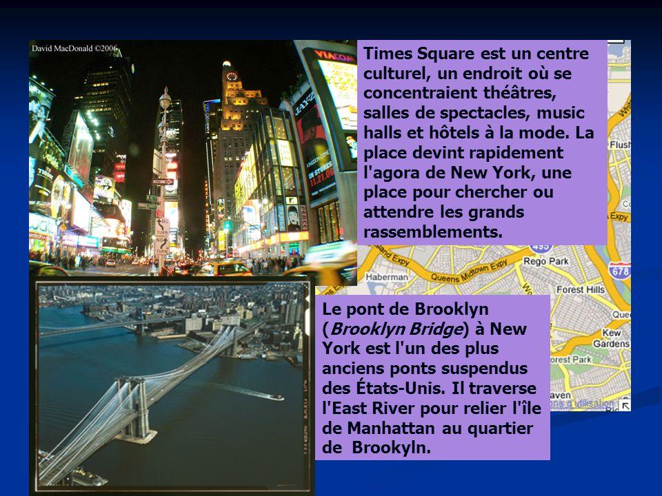Times Square est un centre culturel, un endroit où se concentraient théâtres, salles de spectacles, music halls et hôtels à la mode.