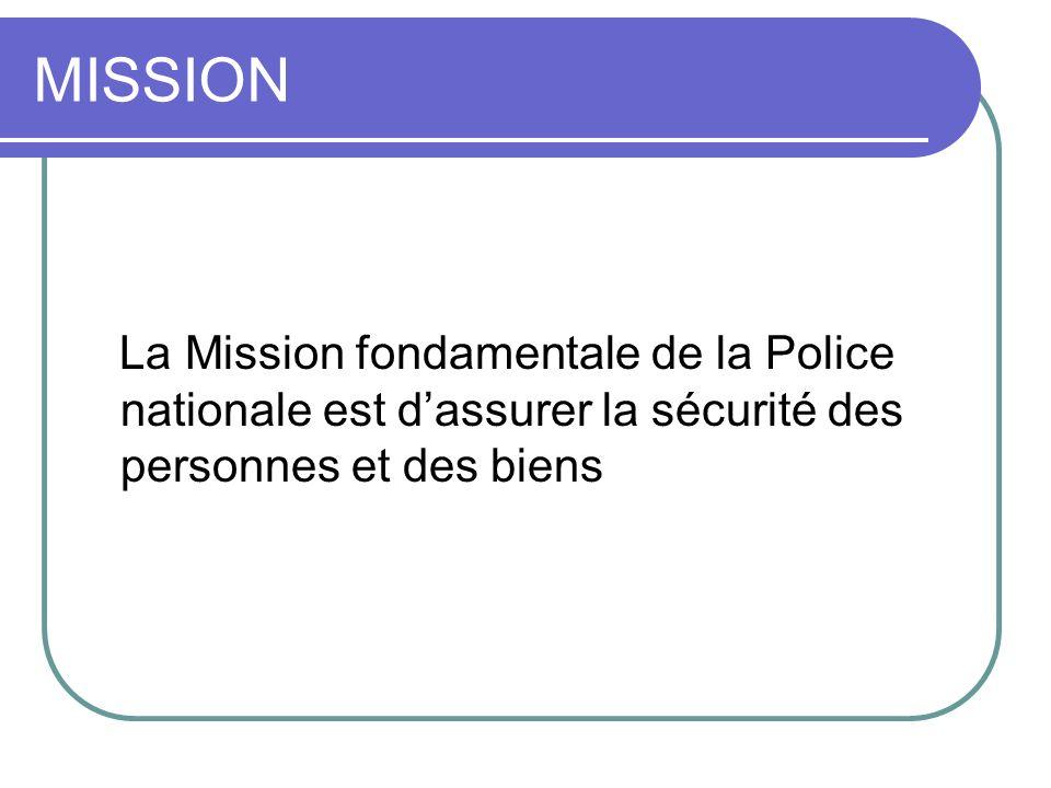 ORGANISATION STRUCTURELLE Corps paramilitaire, la police est placée sous la tutelle du Ministère de lIntérieur Elle comprend: Direction générale Directions Services Commissariats dont Commissariats spéciaux