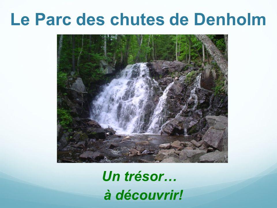 Le Parc des chutes de Denholm Un trésor… à découvrir!