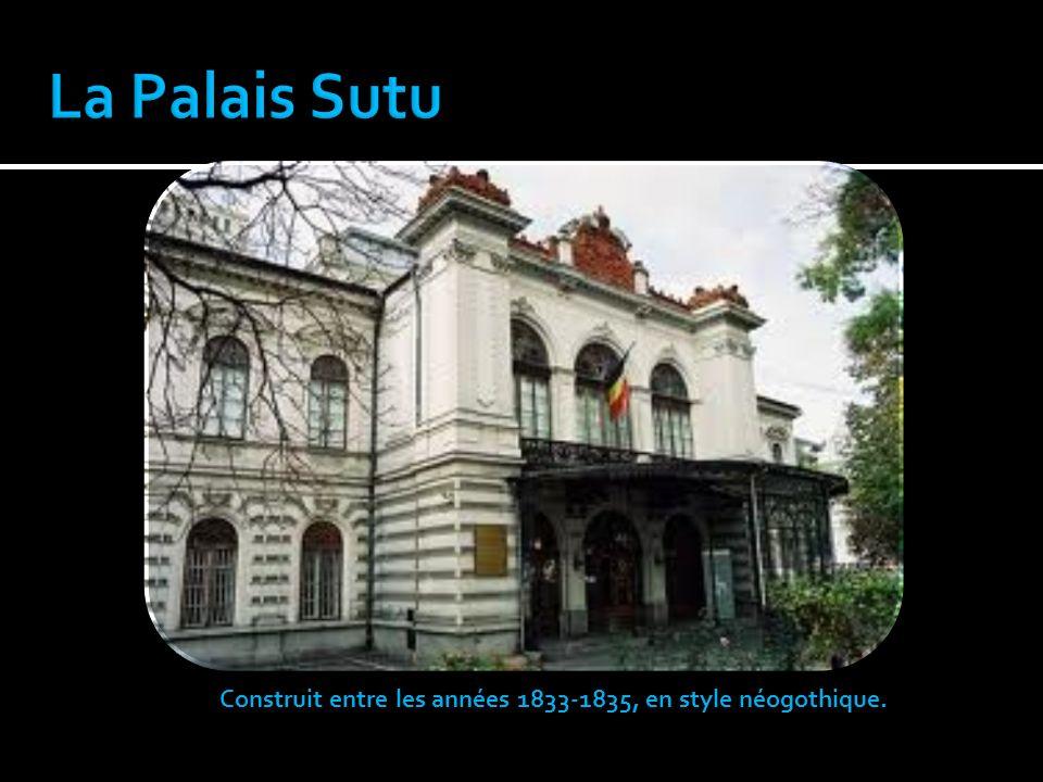Construit entre les années 1833-1835, en style néogothique.