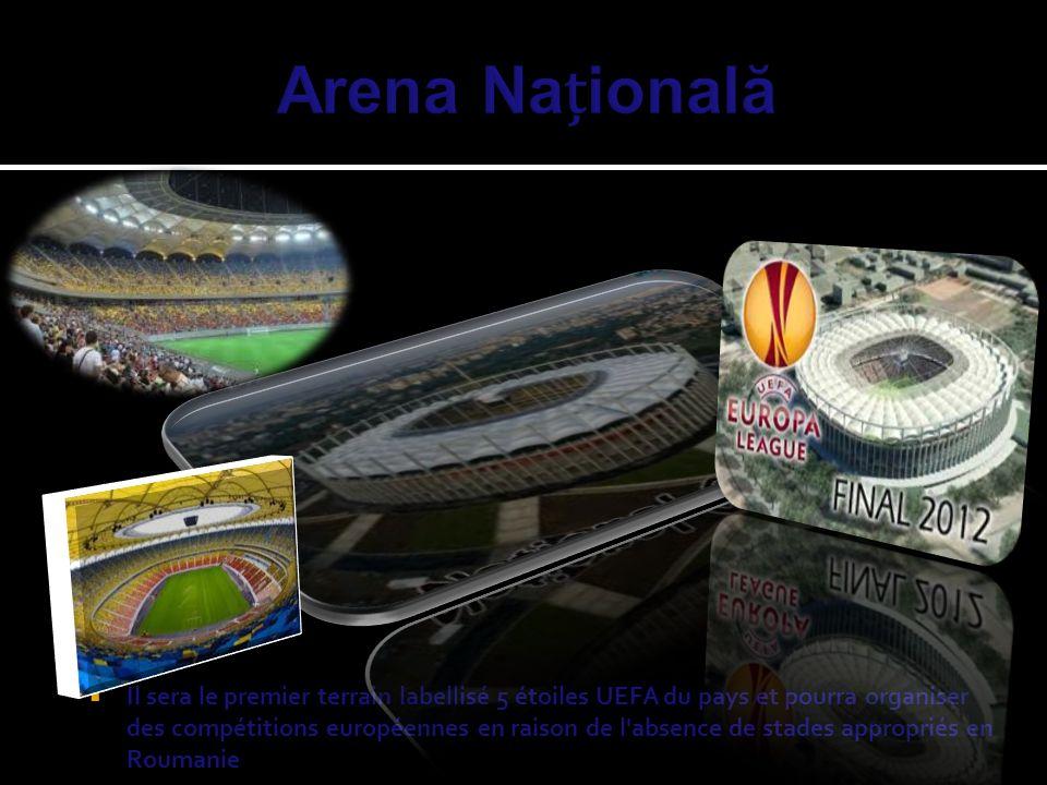 Il sera le premier terrain labellisé 5 étoiles UEFA du pays et pourra organiser des compétitions européennes en raison de l'absence de stades appropri