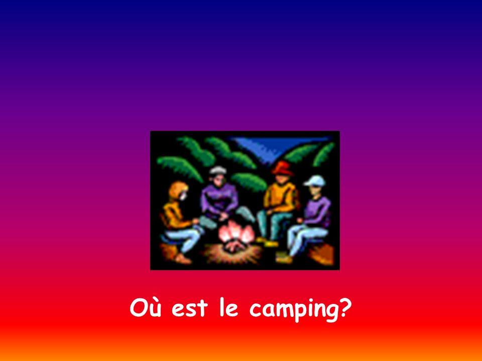 Où est le camping?
