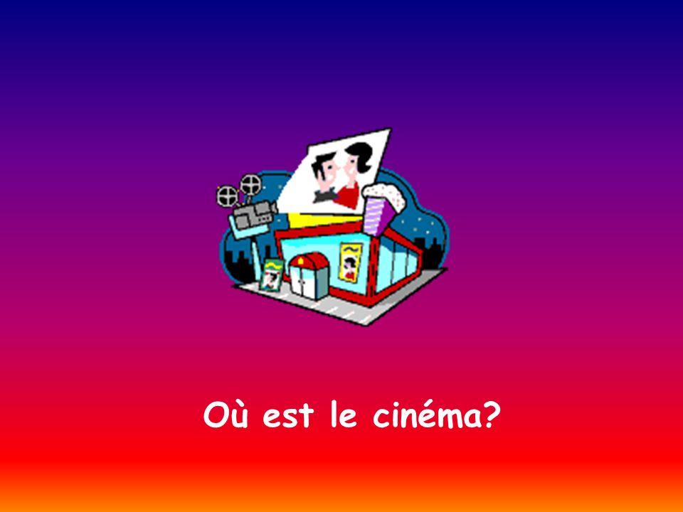 Où est le cinéma?