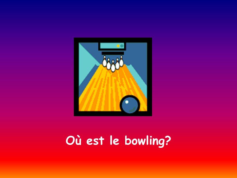 Où est le bowling