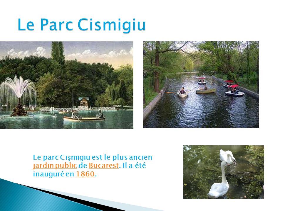 Le parc Cimigiu est le plus ancien jardin public de Bucarest.