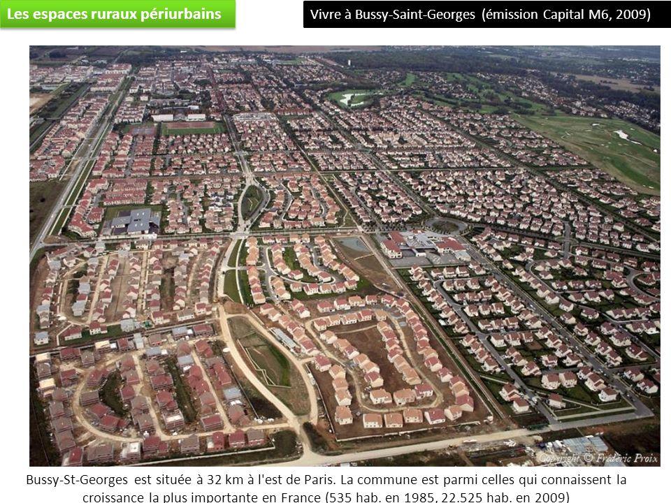 Bussy-St-Georges est située à 32 km à l est de Paris.