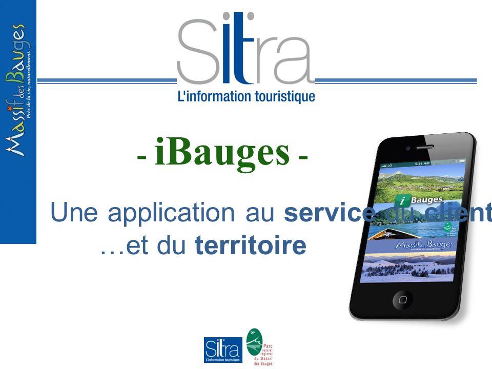 - iBauges - Une application au service du client… …et du territoire