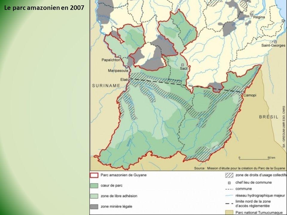 Le parc amazonien en 2007