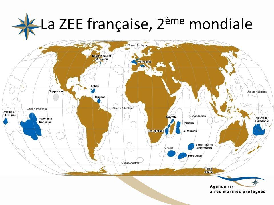 La ZEE française, 2 ème mondiale