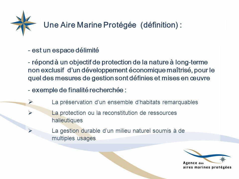 - est un espace délimité - répond à un objectif de protection de la nature à long-terme non exclusif dun développement économique maîtrisé, pour le qu