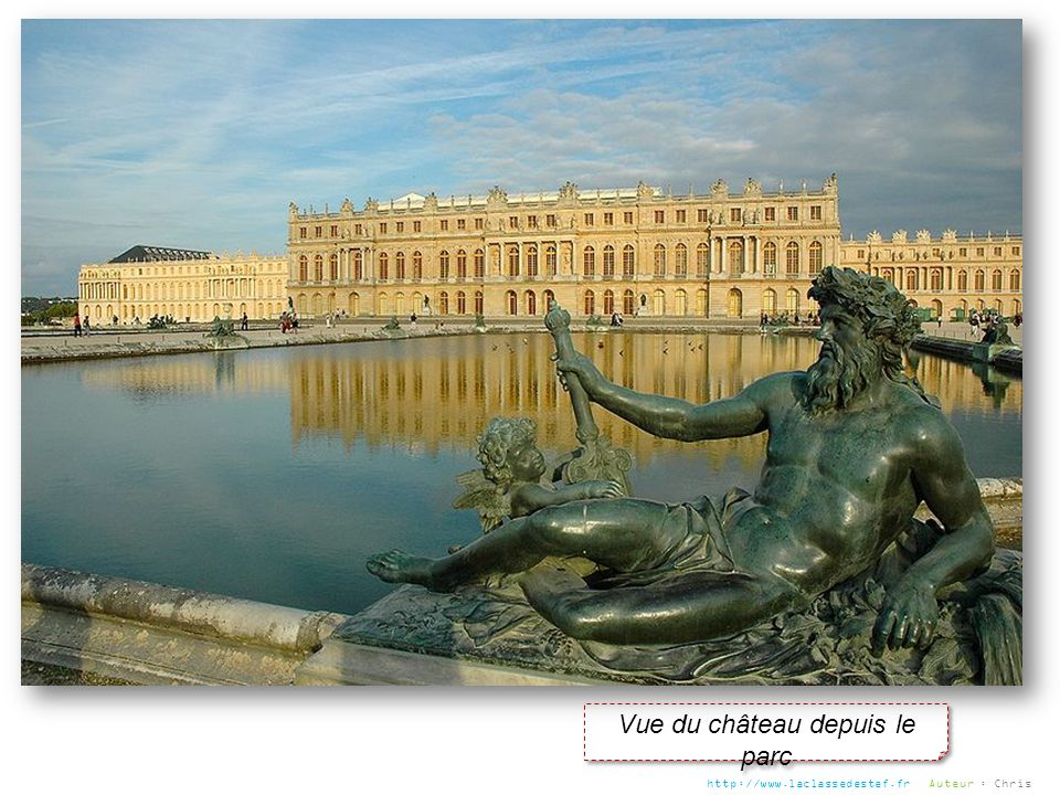Vue du château depuis le parc http://www.laclassedestef.fr Auteur : Chris