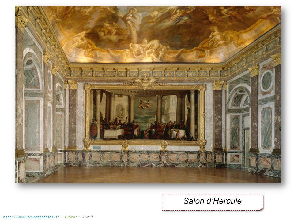 Salon dHercule http://www.laclassedestef.fr Auteur : Chris