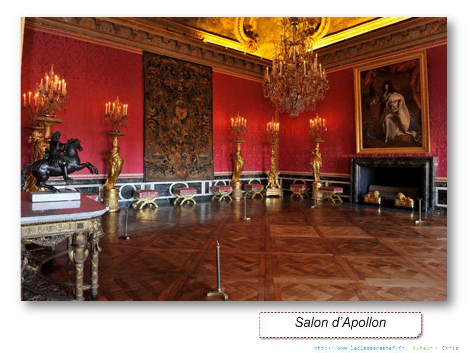 Salon dApollon http://www.laclassedestef.fr Auteur : Chris