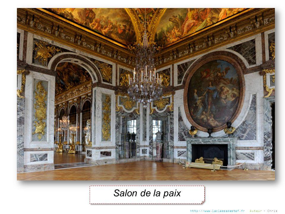 Salon de la paix http://www.laclassedestef.fr Auteur : Chris