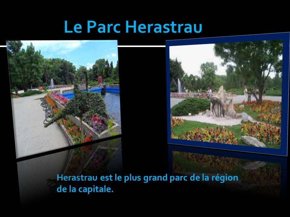 Herastrau est le plus grand parc de la région de la capitale.