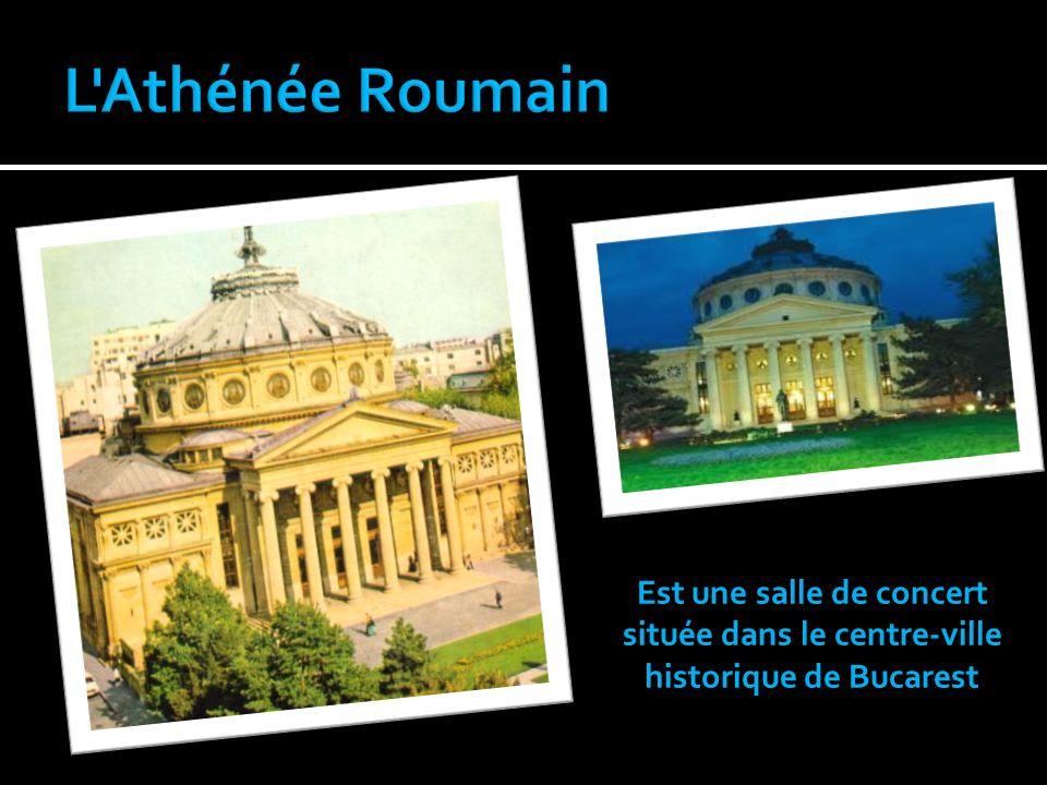 Est une salle de concert située dans le centre-ville historique de Bucarest