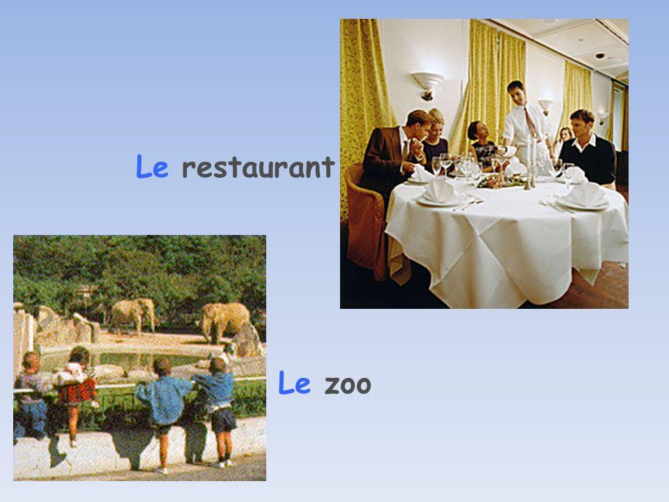Le restaurant Le zoo