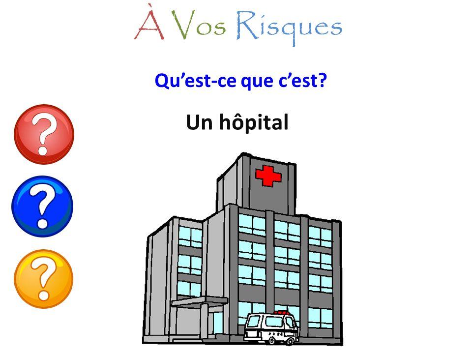 Quest-ce que cest? Un hôpital À Vos Risques