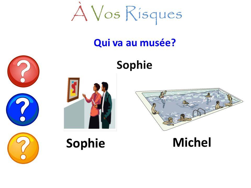 Qui va au musée? Sophie À Vos Risques Sophie Michel