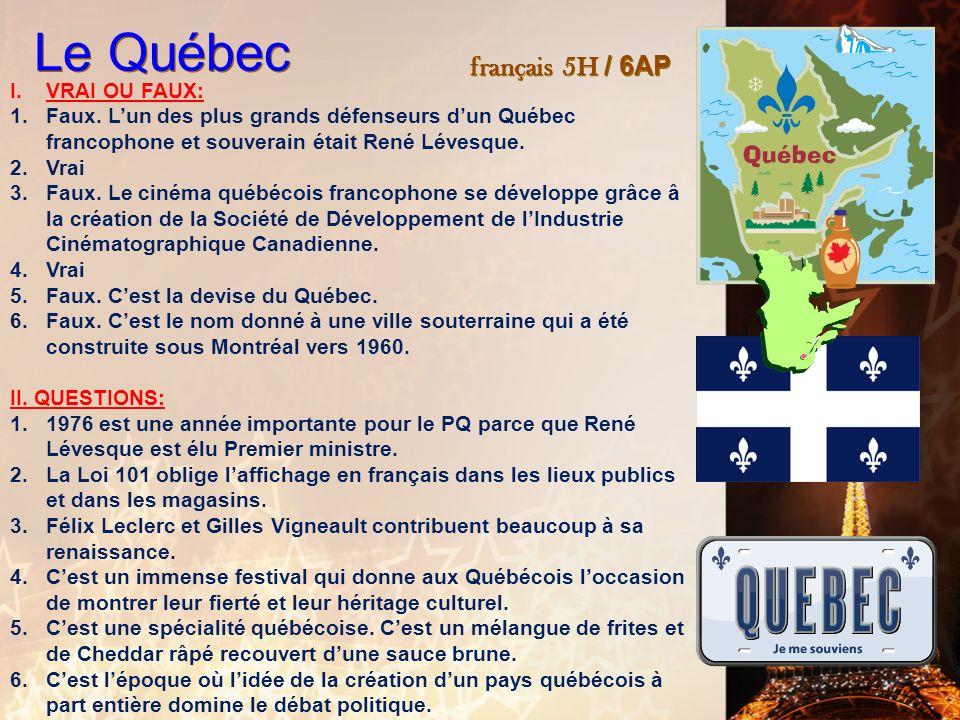 français 6AP le 6-7 mars 2012 ActivitéClasseur Pas dentrée ! PROJET FRANCO-AMERICAIN : Présentation (8 min) Pratiquons ! : Mika : Elle me dit ! I. Par