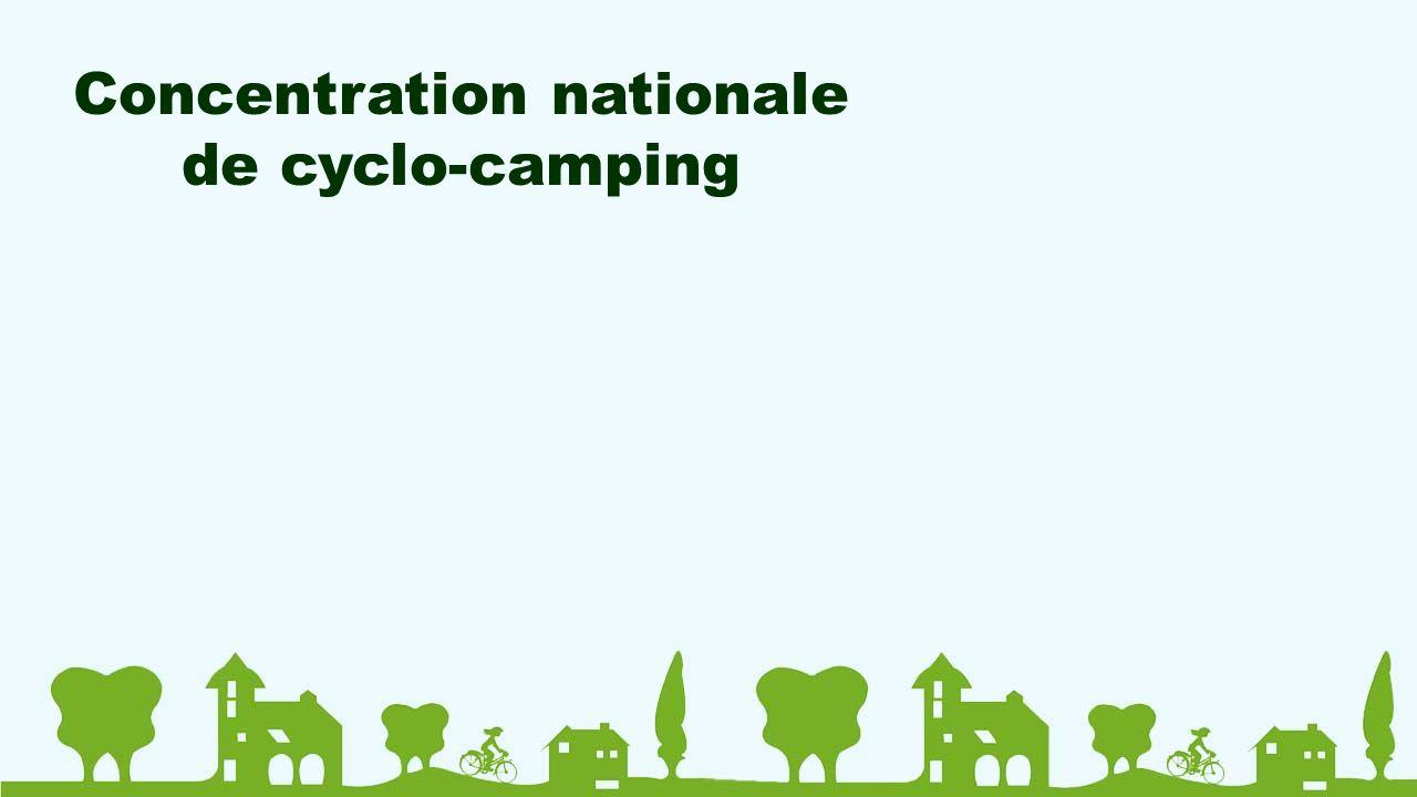 Concentration nationale de cyclo-camping