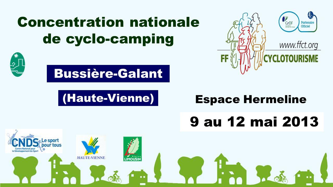 9 au 12 mai 2013 Espace Hermeline Bussière-Galant (Haute-Vienne)