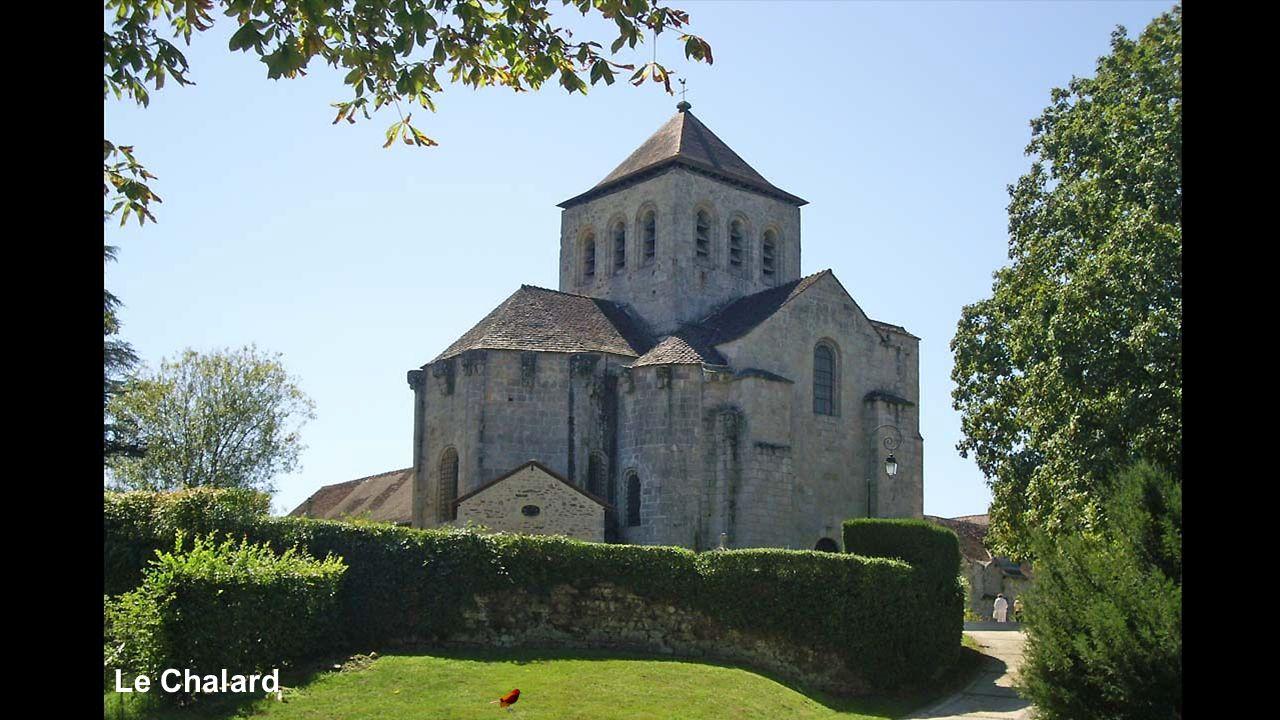 Le Chalard (Cimetière médiéval)