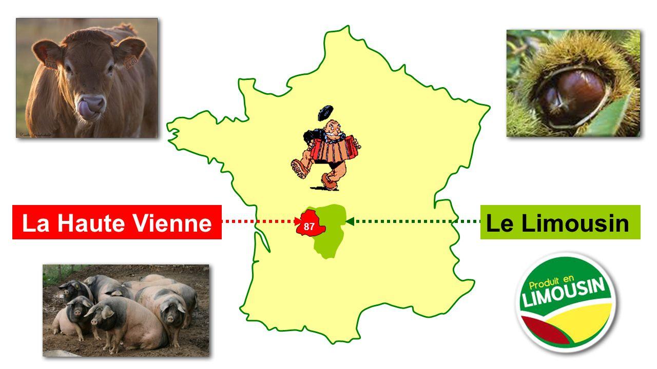 87 Le LimousinLa Haute Vienne