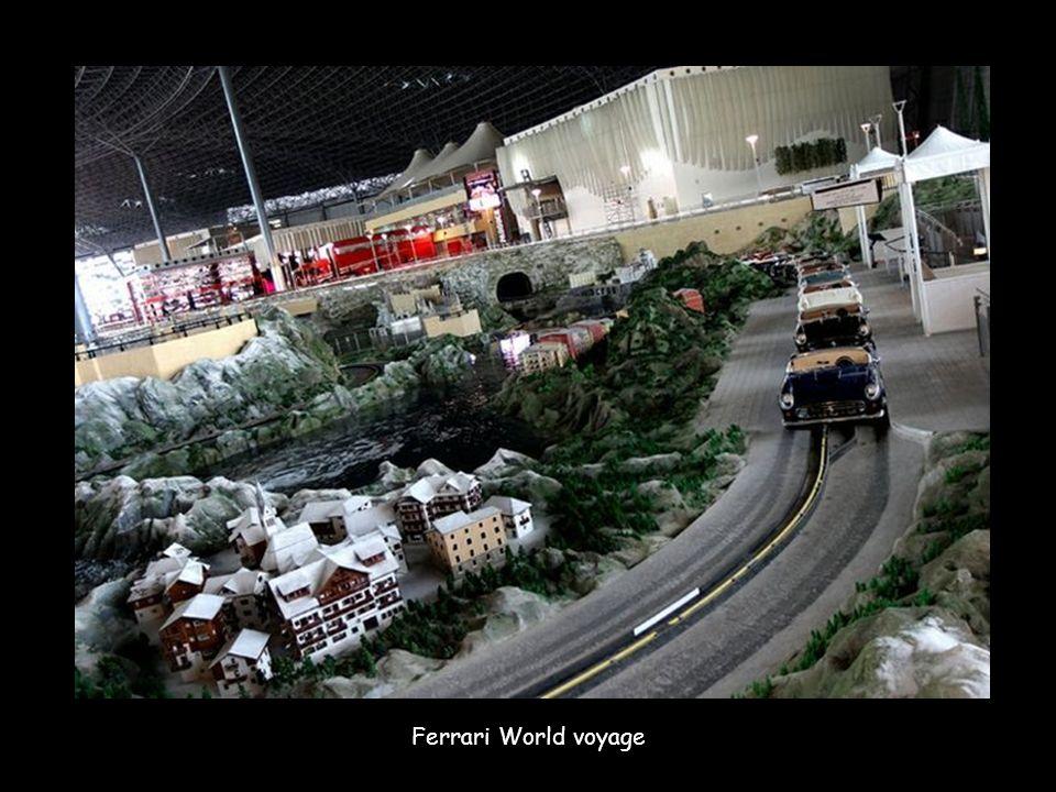 Ferrari World voyage
