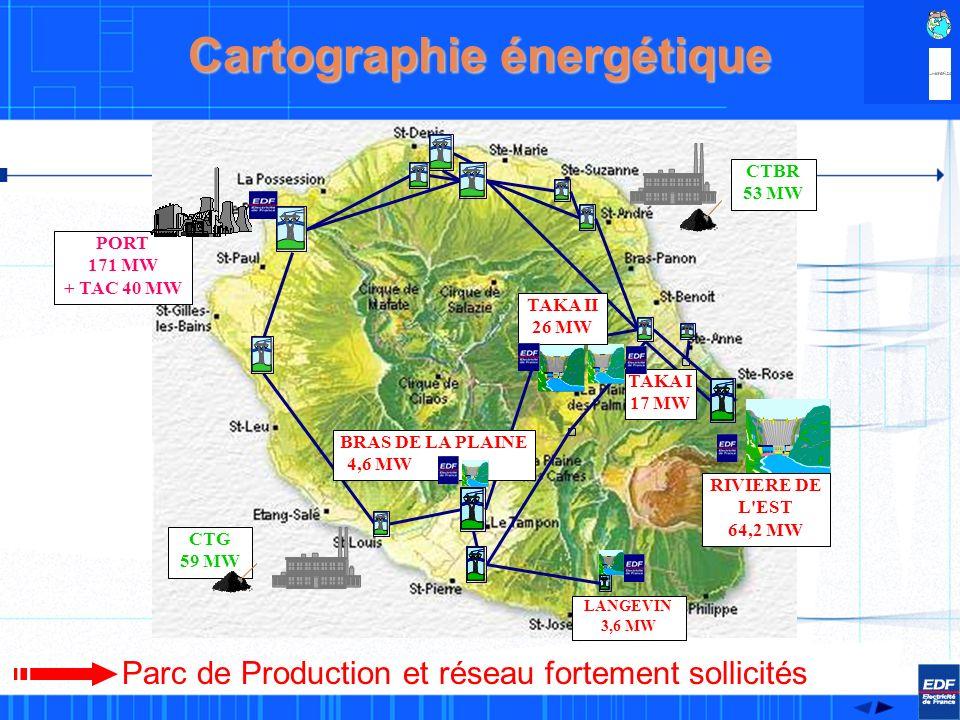 1 Consommation & production délectricitéà La Réunion