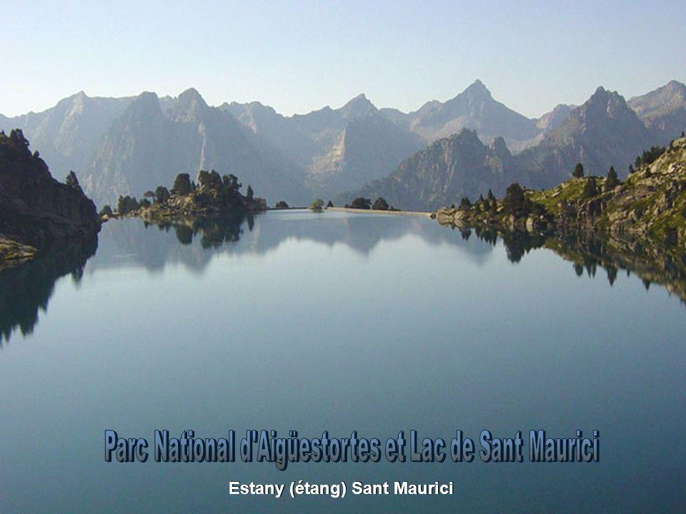 Estany (étang) Sant Maurici