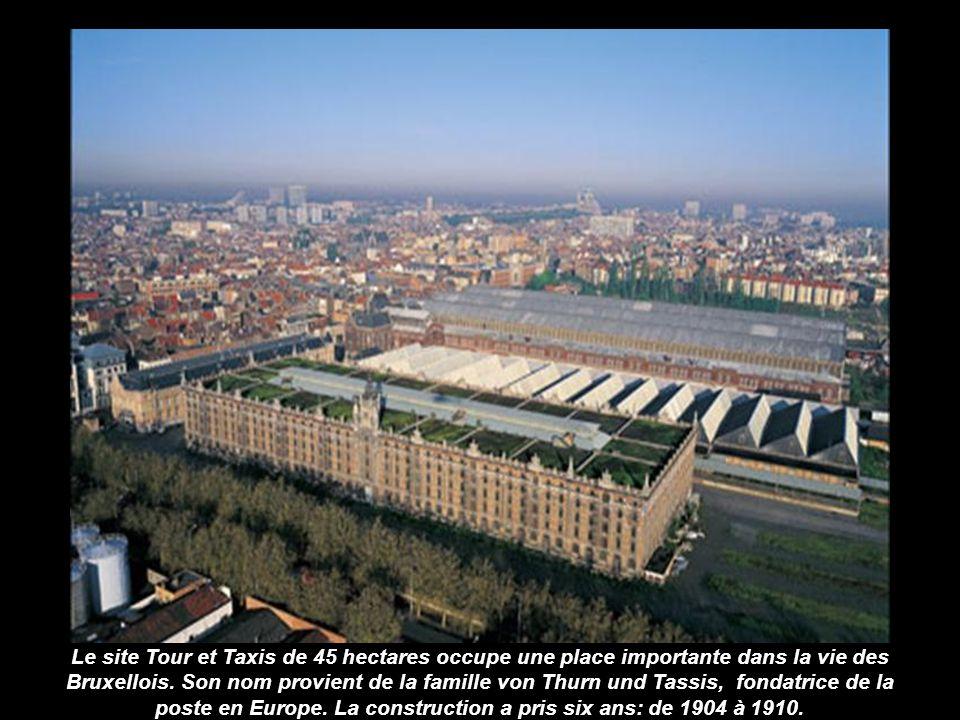 En plein quartier européen, le Justus Lipsius l'un des points névralgiques dans la gestion de l'Union Européenne.