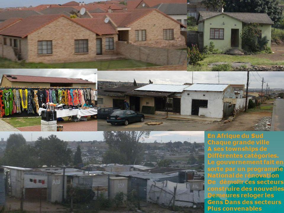 Johannesburg la plus grande ville dAfrique du Sud Plus de 7 000 000 hbs y résident