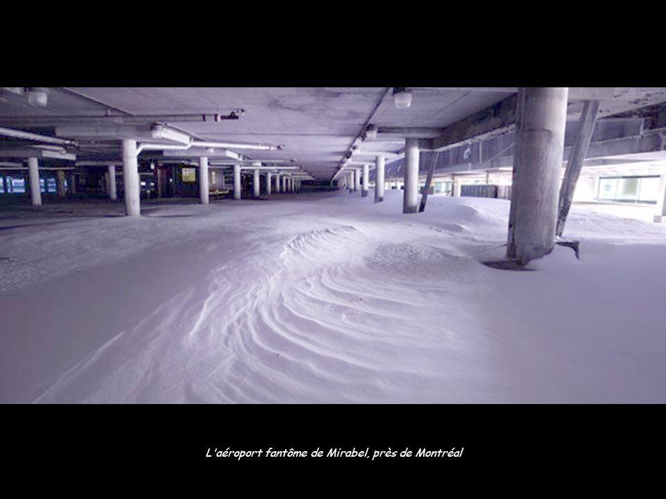 L aéroport fantôme de Mirabel, près de Montréal