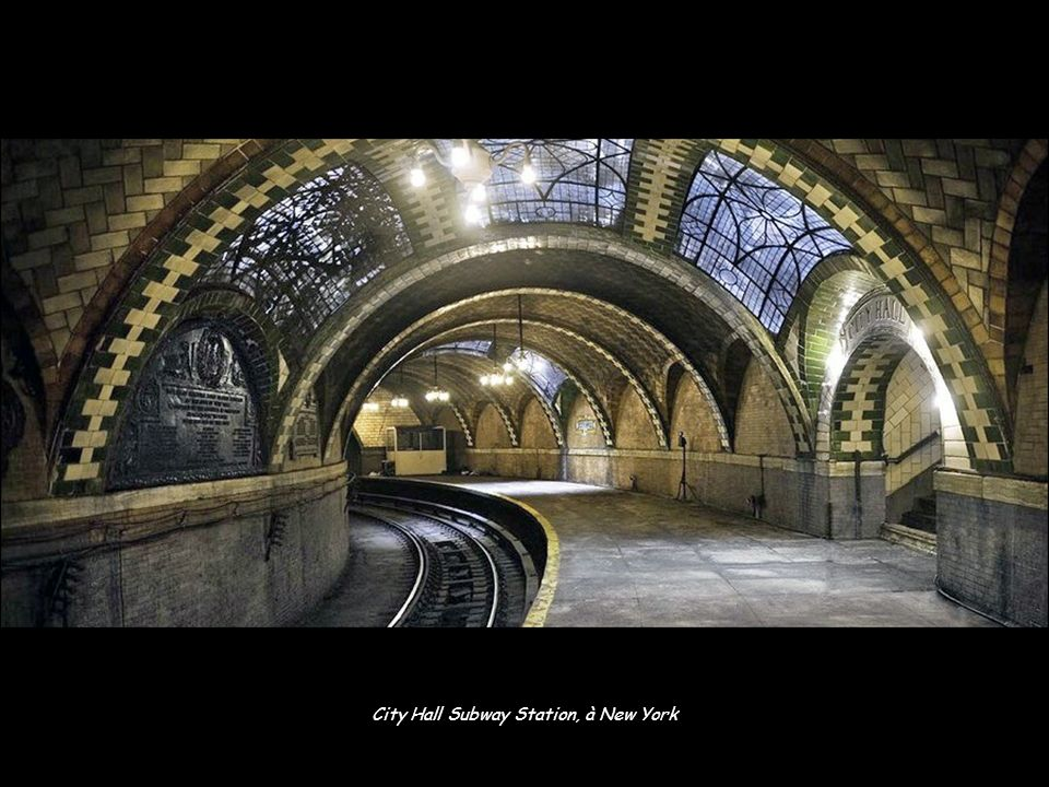 City Hall Subway Station, à New York