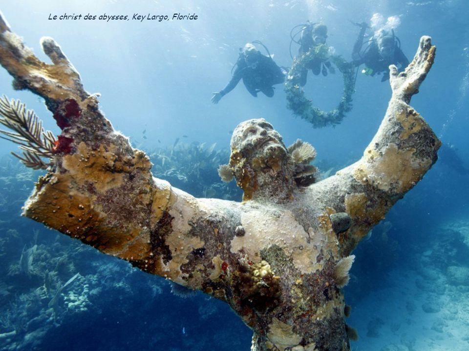 Le christ des abysses, Key Largo, Floride
